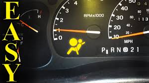 what does it mean when the airbag light comes on air bag light flashing how to diagnose and fix youtube