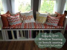 Under Window Bench Seat Storage Diy by I Can Add Benches Like This In 2 Adjacent Windows In Living Room