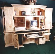 Office Desk Armoire Cabinet Computers Armoire To Organize Your Home Office Stanleydaily