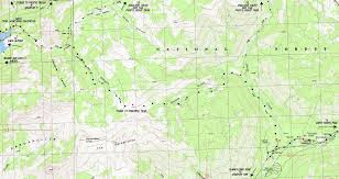 Ord Map Topo Map Highland Creek To Clarks Fork Carson Iceberg Wilderness