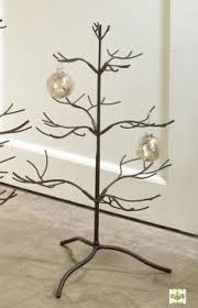 24 wrought iron jewelry ornament tree stand great display for shows
