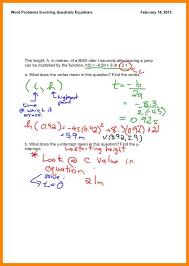7 quadratic function problems liquor samples