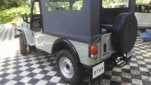 mahindra thar modified seating modified car pictures