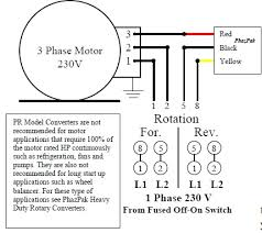 wiring diagram for rotary phase converter the within carlplant