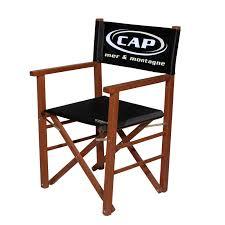 siege metteur en chaise metteur en scène cap mer et montagne