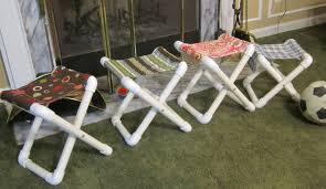 Pvc Pipe Patio Furniture Plans - summer camp chair tutorial that you can make yourself camp