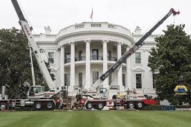 white house renovations about halfway complete upi com