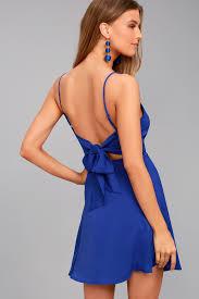 forever yours bridesmaid dresses royal blue skater dress backless dress skater dress