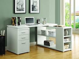 Ikea Corner Table by Furniture White Corner Desk With Side Drawersfor Ikea Office Ideas