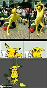 Pikachu Memes - pobre pikachu meme by cris10xd memedroid