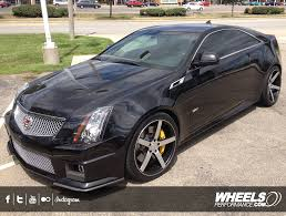 cadillac cts tire size client s cadillac cts v with 20 vossen cv3 black machined wheels