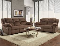 Reclining Sofa And Loveseat Set Affordable Furniture Aspen Chocolate Reclining Sofa Loveseat Set
