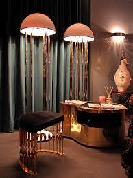 Art Deco Floor Lamps Turner Art Deco Floor Lamp Delightfull