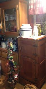 Primitive Kitchen Furniture 170 Best Old Wood Ice Box Images On Pinterest Kitchen Ideas