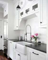 are black granite countertops out of style black leathered granite countertop with farm sink