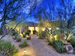 Desert Landscape Ideas For Backyards Amazing Desert Landscaping Ideas For Front Yard Decorated With
