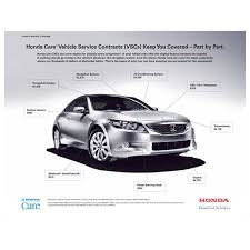 honda car care service plan honda care documents brochures contracts application