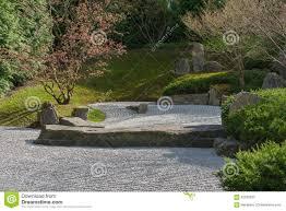 Japanese Rock Gardens Pictures by Japanese Garden Of Merging Water In Berlin Rock Garden Stock