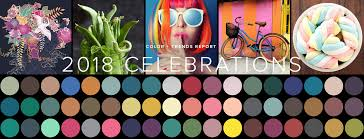 trend colors 2018 color and design trends