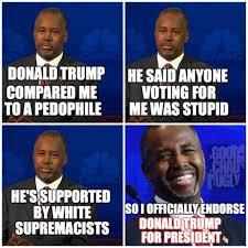 Ben Carson Meme - funny donald trump memes ben carson and donald trump