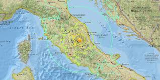 Bari Italy Map by Earthquake In Central Italy Kills Dozens Business Insider