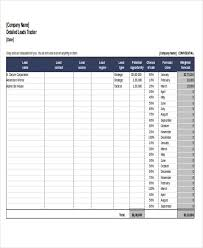 Spreadsheet For Sales Tracking by 9 Excel Sales Tracking Templates Free Premium Templates