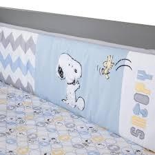 Snoopy Crib Bedding Lambs My Snoopy 4 Crib Bedding Set Babies R Us