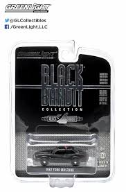 Black 1967 Mustang Amazon Com Greenlight Black Bandit 1987 Ford Mustang Svo Police