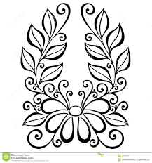 decorative flower decorative flower leaves beautiful vector patterned design