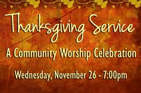 community thanksgiving service st s united methodist church