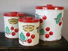vintage cake carrier with cherries collectibles pinterest