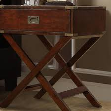 Espresso Accent Table Oxford Creek Sienna Espresso Accent Table With X Leg Nightstand