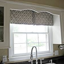 Modern Kitchen Curtains And Valances by Make Your Own Modern Kitchen Curtain Using Less Than A Yard Of