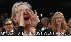 Viral Meme - my left stroke just went viral blackpeopletwitter meme on me me