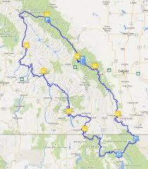 Rocky Mountain Map Canadian Rocky Mountain Loop 2015 Begins Reise