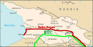 south ossetia map clash in the caucasus russia and the fate of south