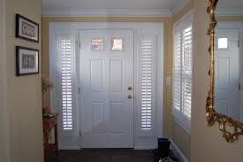 Traditional Interior Shutters Plantation Shutters For French Doors Entry Traditional With Cafe