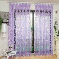 aliexpress com buy tulle curtains floral design window