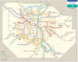 La Metro Rail Map Map Of Paris Rer U0026 Transilien Train Stations U0026 Lines