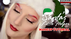 candy cane elf makeup tutorial wholesale halloween costumes blog