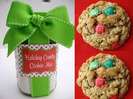 diy christmas cookie mix using a mason jar craft tutorial