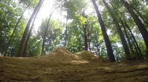 epic line of dirt jumps in vermont bmx and dirt jumper youtube