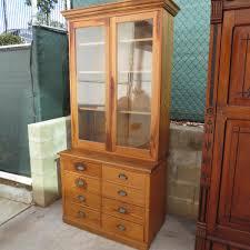 antique hutch with glass doors antique hutch cabinet antique furniture