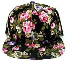 floral snapback blank floral snapback hats wholesale black large flowers all