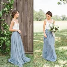 bridesmaid dress shops vintage dusty blue bridesmaid dresses garden wedding floor