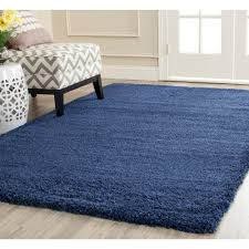 Square Area Rugs 5x5 Safavieh Milan Shag Navy 8 Ft X 10 Ft Area Rug Sg180 7070 8