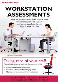 ergonomic workstation assessments prime practice guernsey
