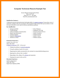 Pc Technician Resume 13 Computer Repair Resume Mla Cover Page