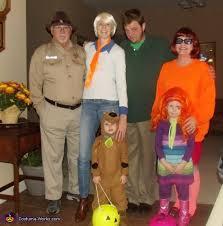 Scooby Doo Halloween Costumes Family Scooby Doo Crew Costume