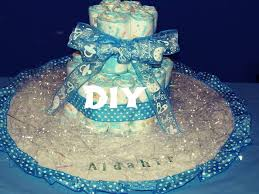 66 useful low cost diy diaper cake decoration ideas for baby